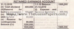 8. Company - Retained Earnings