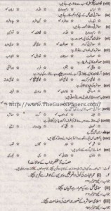 Amraniyat Solved Past Paper 1st year 2011 Karachi Board1