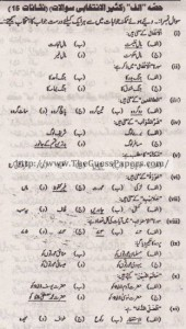 Islamiat Solved Past Paper 10th Class 2012 Karachi Board