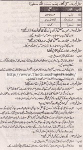 Islamiat Solved Past Paper 10th Class 2015 Karachi Board2