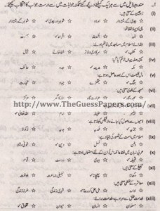 Islamic Studies Solved Past Paper 1st year 2014 Karachi Board
