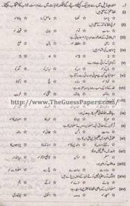 Islamic Studies Solved Past Paper 1st year 2015 Karachi Board