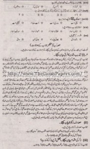 Islamic Studies Solved Past Paper 1st year 2015 Karachi Board1