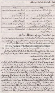 Islamic Studies Solved Past Paper 1st year 2015 Karachi Board4