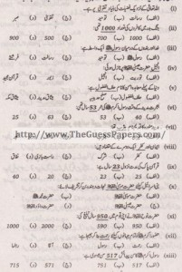 Islamic Studies (general group) Solved Past Paper 10th Class 2011 Karachi Board