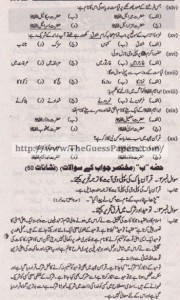 Islamic Studies (general group) Solved Past Paper 10th Class 2011 Karachi Board1