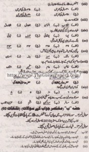 Islamic Studies (general group) Solved Past Paper 10th Class 2012 Karachi Board1