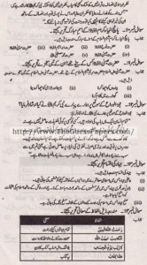 Islamic Studies (general group) Solved Past Paper 10th Class 2012 Karachi Board3
