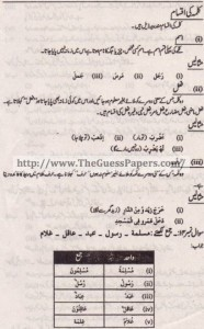 Islamic studies (general group) Solved Past Paper 10th Class 2014 Karachi Board4