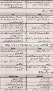 Islamyat Solved Past Paper 1st year 2014 Karachi Board2