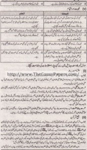 Islamyat Solved Past Paper 1st year 2014 Karachi Board3