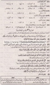 Islamyat Solved Past Paper 1st year 2015 Karachi Board1