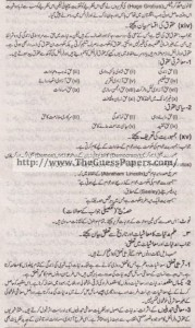 Madniyat Solved Past Paper 1st year 2015 Karachi Board6