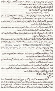 Madniyat Solved Past Paper 2nd year 2014 Karachi Board