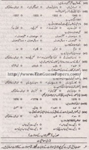 Mashiyat Solved Past Paper 1st year 2014 Karachi Board1