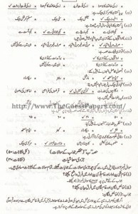 Mashiyat Solved Past Paper 2nd year 2013 Karachi Board