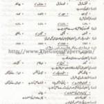 MASHIYAT Solved Past Paper 2nd year 2014 Karachi Board