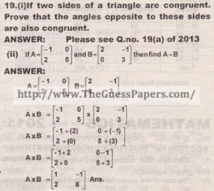 Question no.19