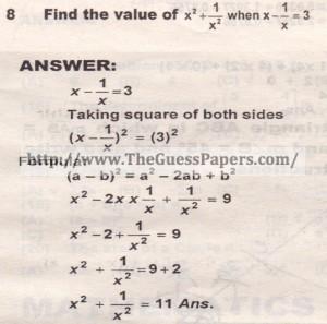 Question no.8