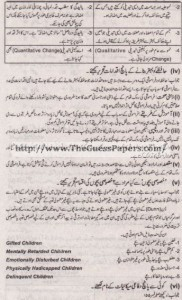 Taleem Solved Past Paper 1st year 2012 Karachi Board2