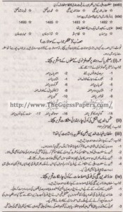 Tarekh-e-Aam Solved Past Paper 1st year 2014 Karachi Board1