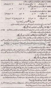 Tarekh-e-Islam Solved Past Paper 1st year 2015 Karachi Board1