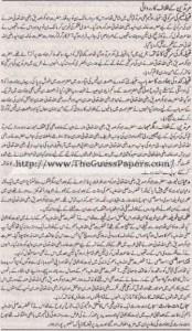 Tarekh-e-Islam Solved Past Paper 1st year 2015 Karachi Board8