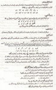 URDU IKHTIYARE Solved Past Paper 2nd year 2015 Karachi Board