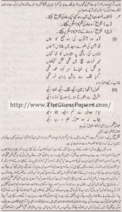 Urdu Solved Past Paper 1st year 2013 Karachi Board5