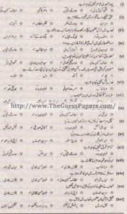 Urdu Solved Past Paper 1st year 2015 Karachi Board