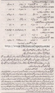 Urdu (ikhteyare) Solved Past Paper 1st year 2012 Karachi Board1