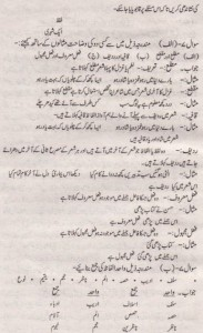 urdu Solved Past Paper 10th Class 2015 Karachi Board9