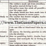 English Solved Past Paper 2nd year 2011 Karachi Board