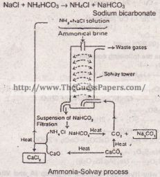 Ammonia-Solvay process