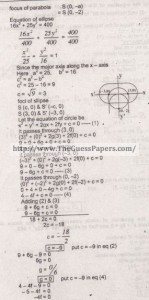 Mathematics Solved Past Paper 2nd year 2015 Karachi Board18
