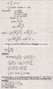 Mathematics Solved Past Paper 2nd year 2015 Karachi Board22