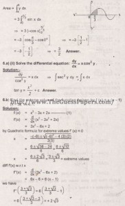Mathematics Solved Past Paper 2nd year 2015 Karachi Board24