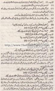 Pak Study Urdu Solved Past Paper 2nd year 2013 Karachi Board (Private)2