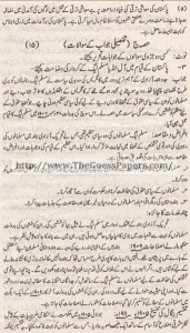 Pak Study Urdu Solved Past Paper 2nd year 2015 Karachi Board (Regular and Private)5
