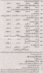 Pakistan Studies in urdu Solved Past Paper 2nd year 2012 Karachi Board1