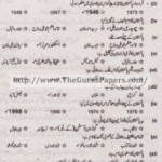 Pakistan Studies in urdu Solved Past Paper 2nd year 2013 Karachi Board
