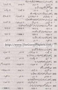 Pakistan Studies in urdu Solved Past Paper 2nd year 2015 Karachi Board