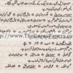 Urdu Past Paper 2nd year 2013 (Regular) Karachi Board